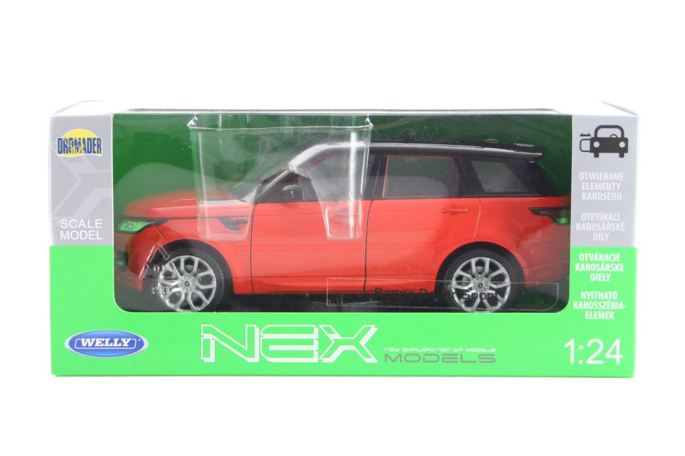 5fa7aa570 Welly 1:24 Range Rover - Autá, lietadlá, lode | OK Hračky
