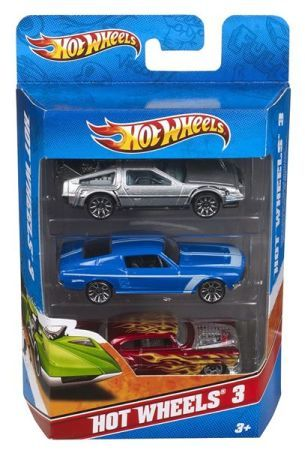 Hot wheels Angličák 3ks