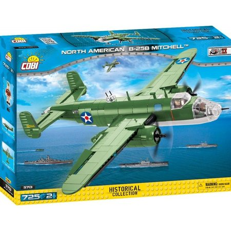 Cobi 5713 II WW North American B-25 B Mitchell