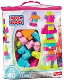 Mega Bloks First Builders Big Building Bag Girls 60ks