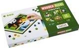 CUBIKA 14910 Pixel V piráti  - dřevěná mozaika 400 kostiček a 7 předloh