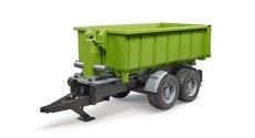 Bruder 2035 Zelený vůz se sklápěcím kontejnerem