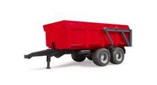 Bruder 2211 Přívěs s automatickou zadní stěnou červený