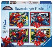 Ravensburger puzzle Disney Spider-man 12/16/20/24 dílků