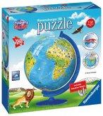Puzzle Ravensburger Dětský Globus (anglický) 180 dílků