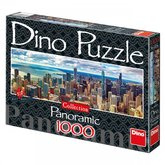Dino puzzle Chicago 1000D panoramatické