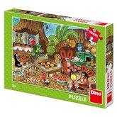 Dino puzzle Krtek v kuchyni 100XL