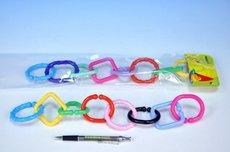 Plastový řetěz na kočár