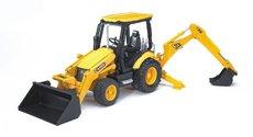 Bruder 2427 Traktor JCB MIDI čelný nakladač + bager