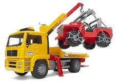 Bruder 2750 MAN TGA odťahovka MAN TGA + Jeep