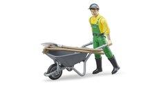 Bruder 62610 Figurka set zemědělec s příslušenstvím