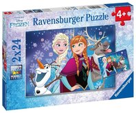 Puzzle Disney Ledové království 2x24 dílků