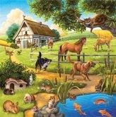 Ravensburger  puzzle Domácí zvířata 3 x 49 dílků