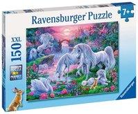 Ravensburger puzzle Jednorožce pri západe slnka 150 XXL dielikov