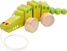 Legler Dřevěný tahací krokodýl