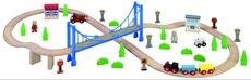Maxim Vláčkodráha s visutým mostem