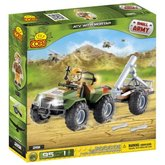 Cobi 2191 Small Army ATV s minometem