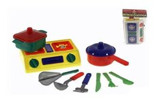 Mikro trading nádobí s vařičem