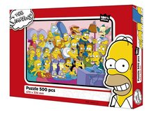 Puzzle The Simpsons 500 dílků