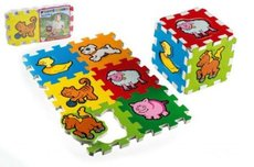 Teddies Pěnové puzzle Moje první zvířátka