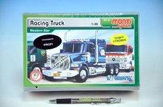 Stavebnice Monti 43 Racing Truck Western star 1:48