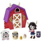 Mattel Enchantimals tajné útočiště nejlepších přátel Cow Cambrie Farmhouse