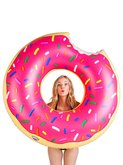 Big Mounth Inc. nafukovačka Float Donut Pink