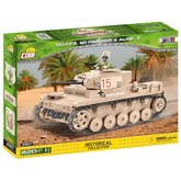 Cobi 2527 World War II Sd.Kfz.121 PzKpfw II Ausf. F, 420 k, 1 f